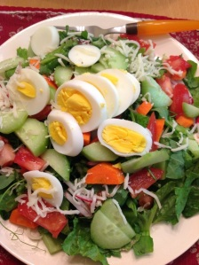 Building your own salad puts each diner in control!