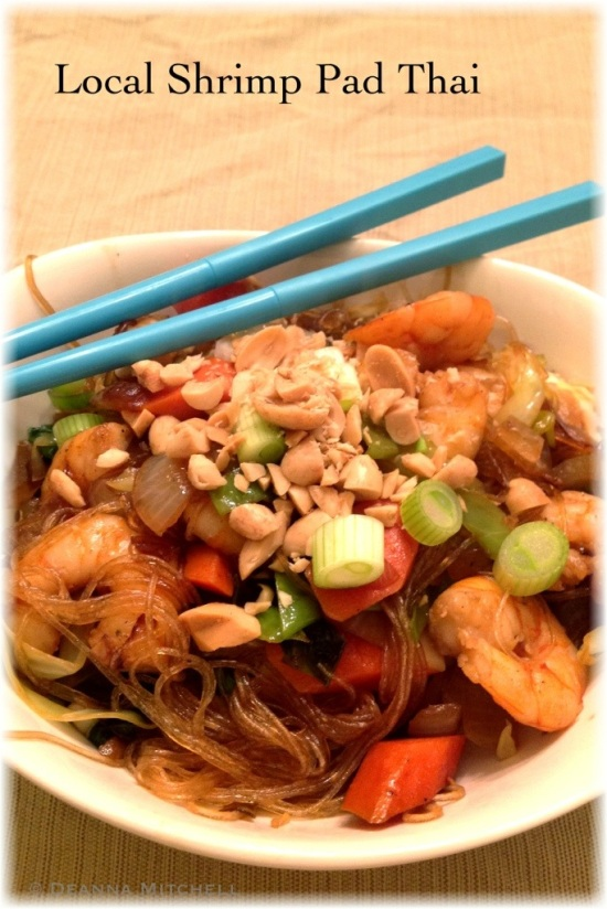This homemade version of Pad Thai uses fresh vegetables from the ...