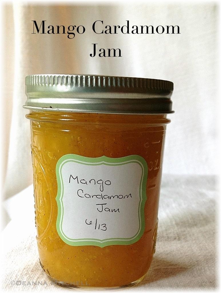 Mango Cardamom Jam