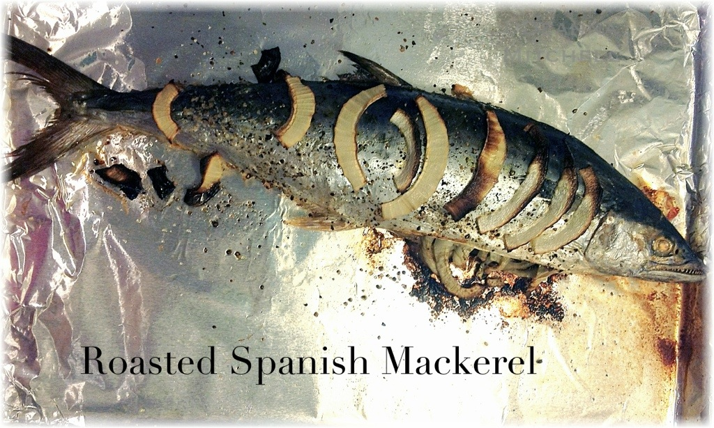 Roasted spanish mackerel sole food kitchen for How to cook mackerel fish